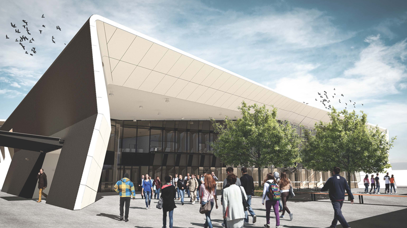 TAFE-Gippsland Morwell-campus-render-Students-Stage-2