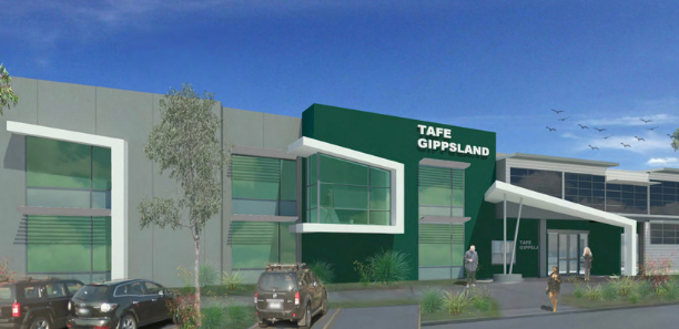 Artist impression of our upgraded Warragul campus