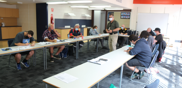 New security course taught in classroom at the Yallourn campus