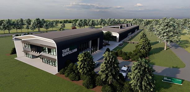 TAFE-Gippsland-Port of Sale Campus-Render