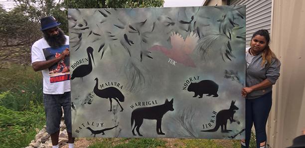 Koorie-Painting