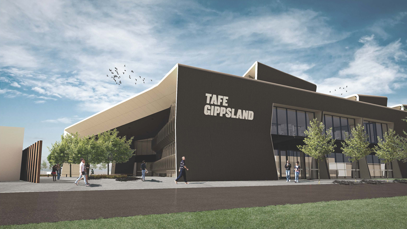 TAFE-Gippsland Morwell-campus-render-Stage-2